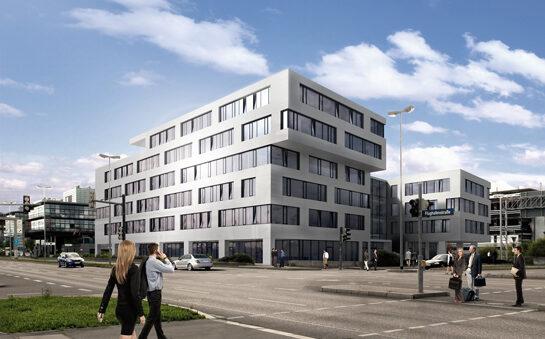 Stuttgart, Flughafen F32 – Neubau Bürogebäude FSG
