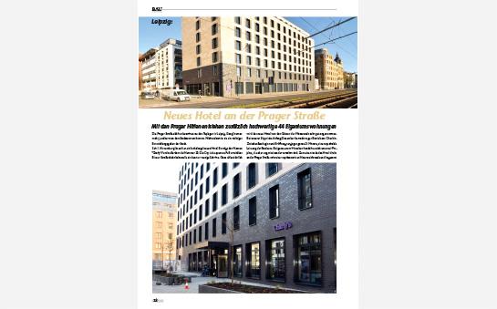 Neues Hotel an der Prager Straße – mit den Prager Höfen entstehen zusätzlich hochwertige 44 Eigentumswohnungen